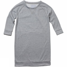 United By Blue United By Blue Women's Raglan Fleece Dress Grey
