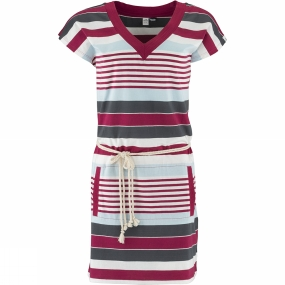 Eider Womens Ponton Dress Cherry Wine Stripes Eider Womens Ponton Dress Cherry Wine Stripes by Eider