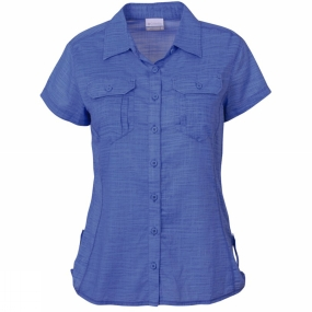 Columbia Women's Camp Henry Solid Short Sleeve Shirt