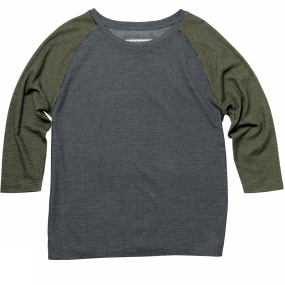 United By Blue United By Blue Womens Raglan Colorblock Pullover Navy/Green