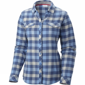 Womens Simply Put II Flannel Shirt