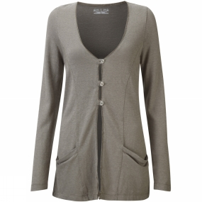 Royal Robbins Womens Mary Jane Cardigan Light Taupe