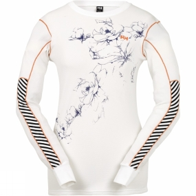 Womens HH Active Long Sleeve Multistripe
