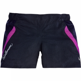 Salomon Salomon Womens XT II Lite Shorts Black/Very Purple