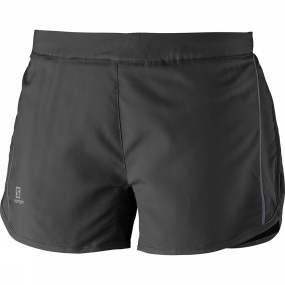 Salomon Salomon Womens Agile Shorts Black