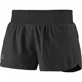 Salomon Salomon Womens Sense Pro Shorts Black