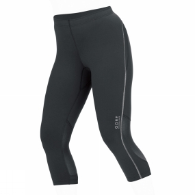 Gore Running Wear Womens Essential Tights 3/4