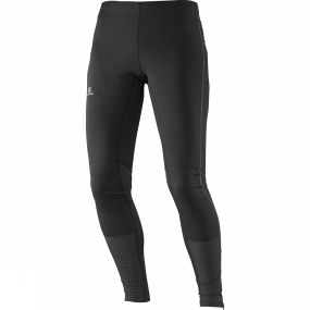 Salomon Salomon Womens Agile Long Tights Black