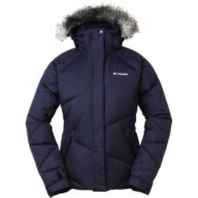 Columbia Columbia Womens Lay 'D' Jacket Abyss / Optic Dobby