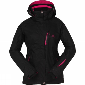 Salomon Salomon Womens Express II Jacket Black