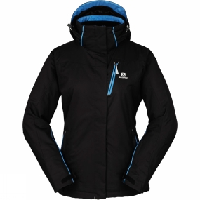 Salomon Salomon Womens Express Jacket Black