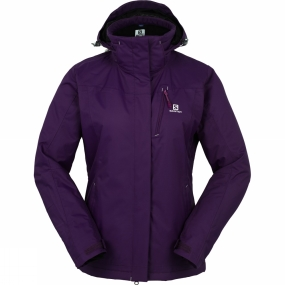 Salomon Salomon Womens Express Jacket Cosmic Purple