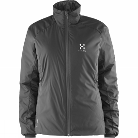 Haglofs Haglofs Womens Barrier III Q Jacket True Black / Magnetite