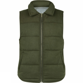 United By Blue United By Blue Womens Martel Wool Vest Green