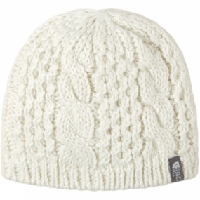 The North Face Women's Cable Minna Beanie Vintage White