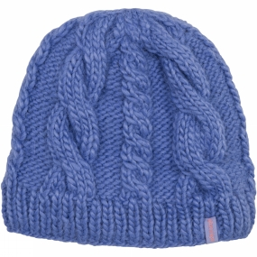 Ayacucho Womens Cable Beanie Winter Berry