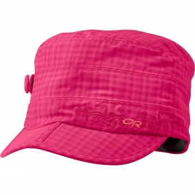 Outdoor Research Womens Radar Cap Azalea Check
