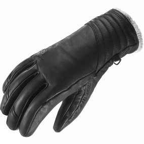Salomon Salomon Womens Native Glove Black / Light Grey Lining