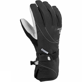 Salomon Salomon Womens Propeller Dry Glove Black/White