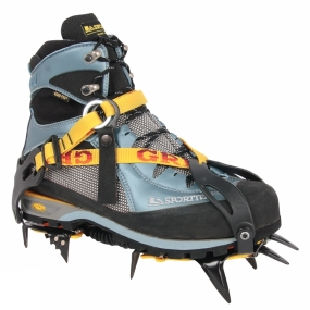 La Sportiva The Womens Trango S Evo GTX Boot from La Sportiva bridges the gap between traditional hiking boots and heavier mountain boots by remaining light and precise whilst boasting crampon compatiblility. The boot has out of the box comfort and is ideal for 3 season alpine hiking, scrambling, mountaineering and Via Ferrata. Your feet will remain dry and comortable with the Gore-Tex lining and the all synthetic upper is lightweight and repels water. Importantly, the Vibram Mulaz outsole is made from the sticky Supertrek Rubber and has an edging platform to help you grip on those thin edges.