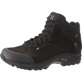 Haglofs Haglofs Mens Ridge Mid GT Boot True Black/Gale Blue