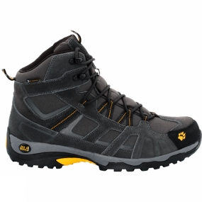 Jack Wolfskin Jack Wolfskin Mens Vojo Hike Mid Texapore Boot Burly Yellow