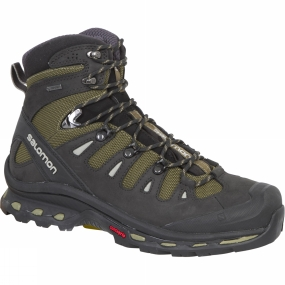 Salomon Salomon Mens Quest 4D 2 GTX Boot Iguana Green/Asphalt/Dark Titanium