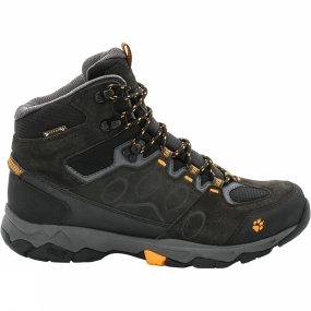 Jack Wolfskin Jack Wolfskin Mens MTN Attack 5 Texapore Mid Boot Burly Yellow
