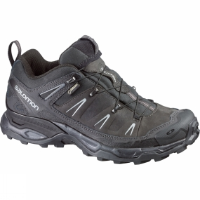 Salomon Salomon Mens X Ultra LTR GTX Shoe Asphalt/Black/Pewter