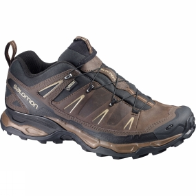 Salomon Salomon Mens X Ultra LTR GTX Shoe Absolute Brown-X/Black/Navajo