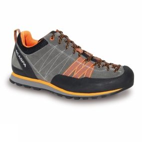 Scarpa Scarpa Mens Crux Shoe Grey - Orange