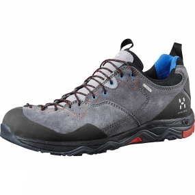 Haglofs Haglofs Mens Rocker Leather GT Shoe Granite/Danger