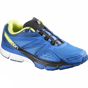 Salomon Salomon Mens X-Scream 3D Shoe Union Blue/Gentiane/Gecko Green