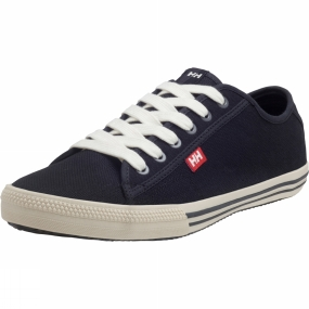 Helly Hansen Mens Fjord Canvas Shoe Black/Off White