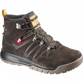 Salomon Salomon Mens Utility TS CSWP Boot Trophy Brown Ltr/Absolute Brown-X/Sunny-X