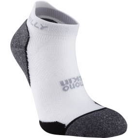 Hilly Hilly Supreme Socklet White / Charcoal / Black