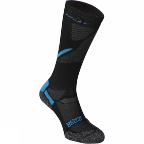 Hilly Hilly Energize Compression Sock Black / Electric Blue