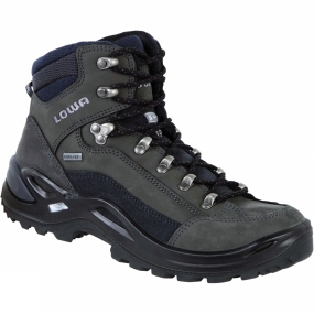 Lowa Lowa Womens Renegade GTX Mid Narrow Boot Dark Grey/Navy