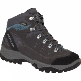Scarpa Scarpa Womens Mistral GTX Boot Smoke/Polarblue