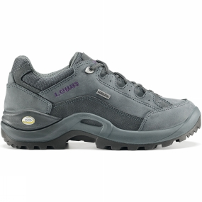 Lowa Lowa Womens Renegade II GTX Lo Shoe Blue Grey/Purple