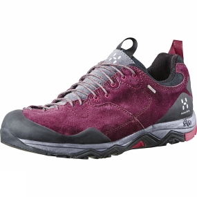 Haglofs Haglofs Womens Rocker Leather GT Shoe Aubergine