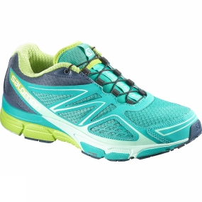 Salomon Salomon Women's X-Scream 3D Teal Blue F/Slateblue/Granny Green