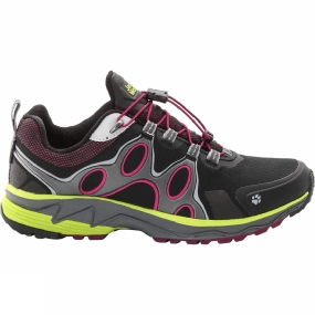 Jack Wolfskin Womens Passion Trail Texapore Low Shoe Wild Berry