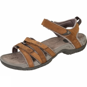 Teva Teva Womens Tirra Leather Sandal Rust