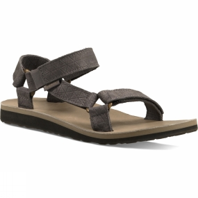 Teva Teva Womens Original Universal Leather Diamond Sandal Eiffel Tower
