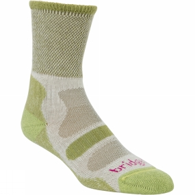 Bridgedale Womens Coolfusion Light Hiker Sock Spring Green