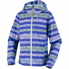 Columbia Youths Fast Trek II Full Zip Age 14+ Light Grape / Candy Mint