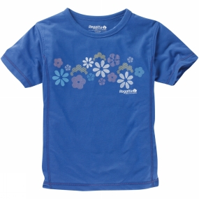 Regatta Girls Sonic Tee Age 14+ Blueberry Pie