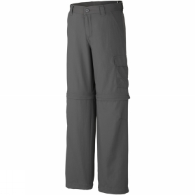 Columbia Boys Silver Ridge III Convertible Pants Age 14+ Grill