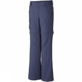 Columbia Girls Silver Ridge III Convertible Pants Age 14+ Nocturnal